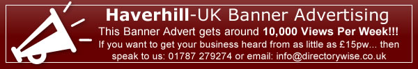 Advertise with Haverhill-UK