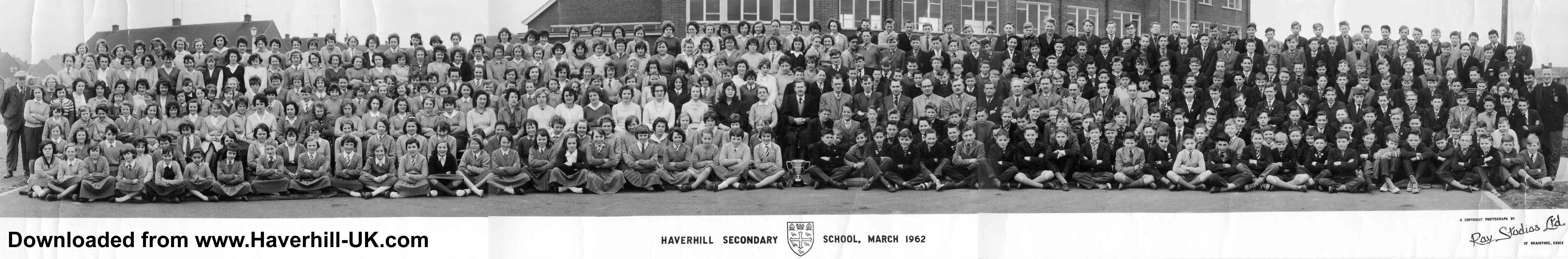 Haverhill-UK - 1962 Haverhill Secondary School Photo ...