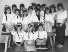 Class Photo from Haverhill Secondry Modern School in 1964
